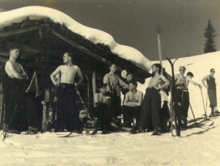 Austria Boys Skiing 1939