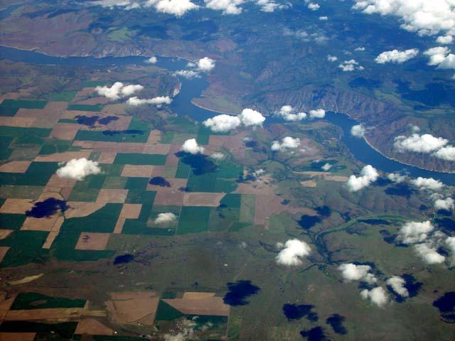 Columbia River Aerial
