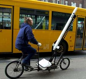 The Bicycle Rocket Launcher