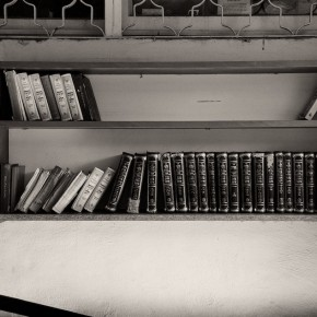 Study Books at Maimonides Grave