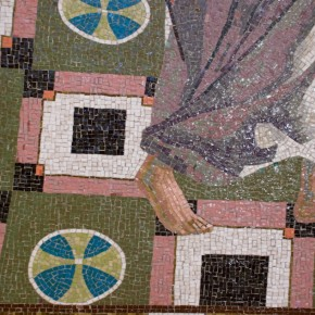 Mosaic Basilica Annunciation Nazareth
