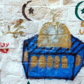Graffiti in Old Jerusalem