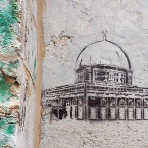 Jerusalem Stencil Art