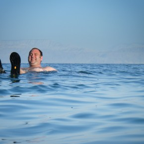 Knox in the Dead Sea