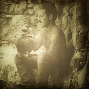 archaeologist masada