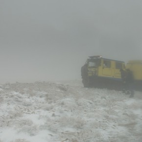 Jordan Petra Snow Rescue