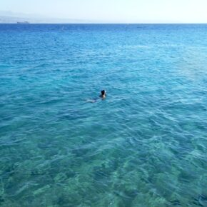 Swimming in Gulf of Aqaba