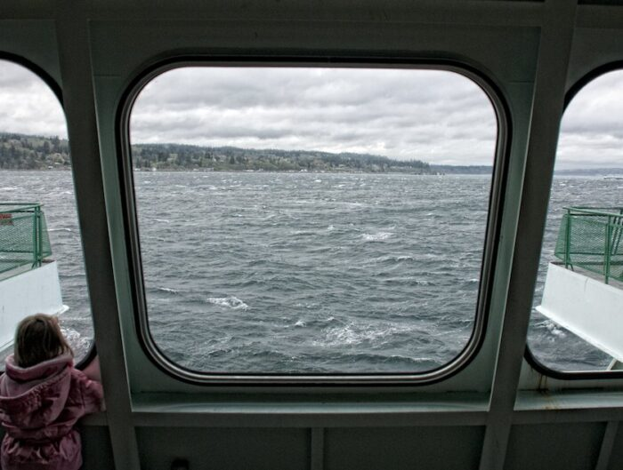 Crossing on Whidbey Ferry