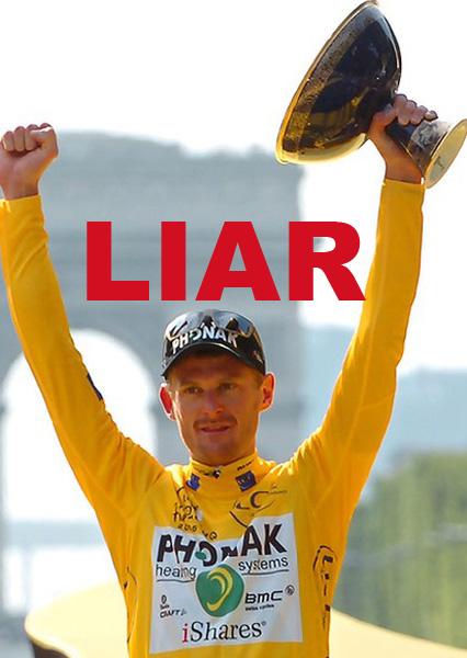 Floyd Landis is a Liar