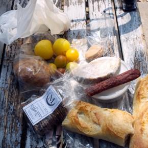 Lunch from Farmer's Market