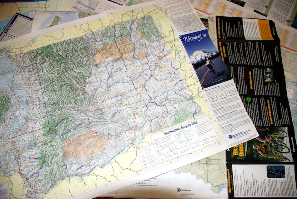Washington State Bicycle Map