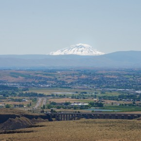 Leaving Yakima, Washington