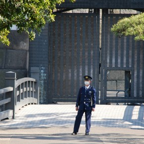 Guard at the Imperial Palace