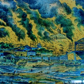 Print of Kanto Earthquake