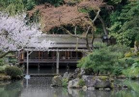 Tea House in Kenroku-en