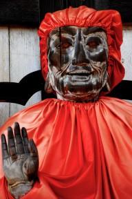 A buddha outside at Todai-ji