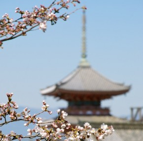 Pagoda at Kiyomizu