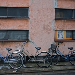Bicycles in Kyoto