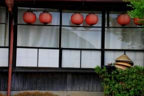 Lanterns in Arashiyama