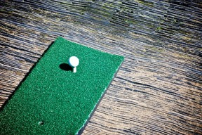 No Need for Wooden Tees