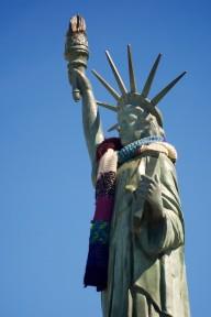 Alki's Statue of Liberty