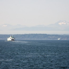 Departing Seattle for Our Ride