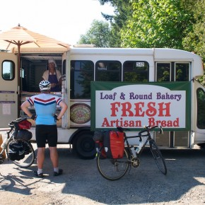 Loaf and Round Bakery: It's mobile!