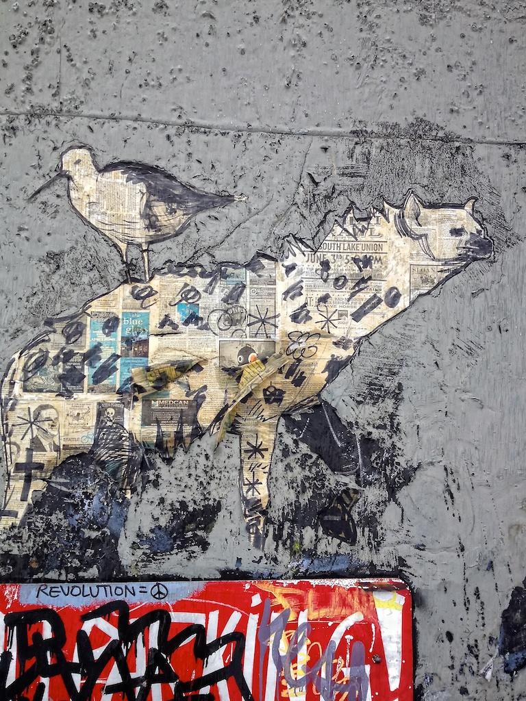 Graffiti in the International Distict