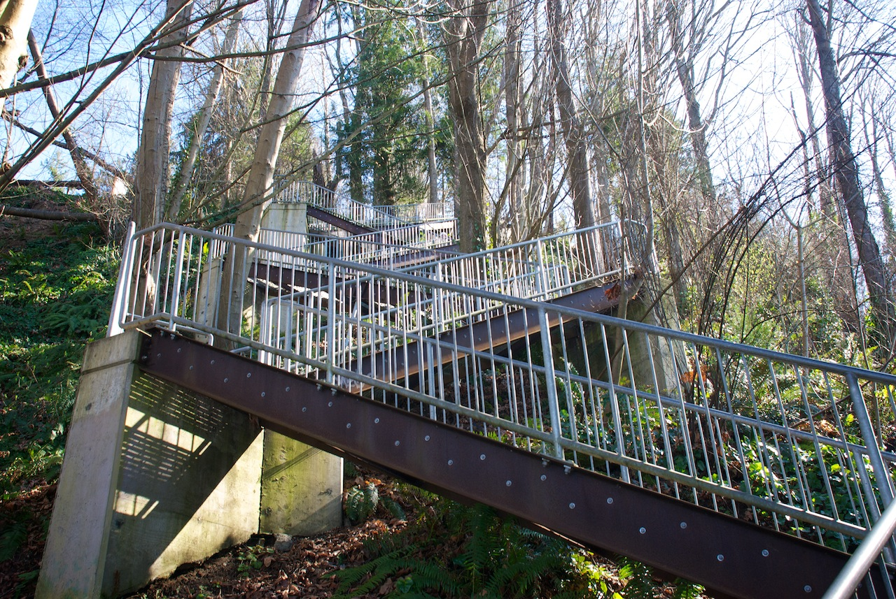 Eagle Landing Stairs in Burien