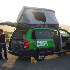 Jucy Van at camp