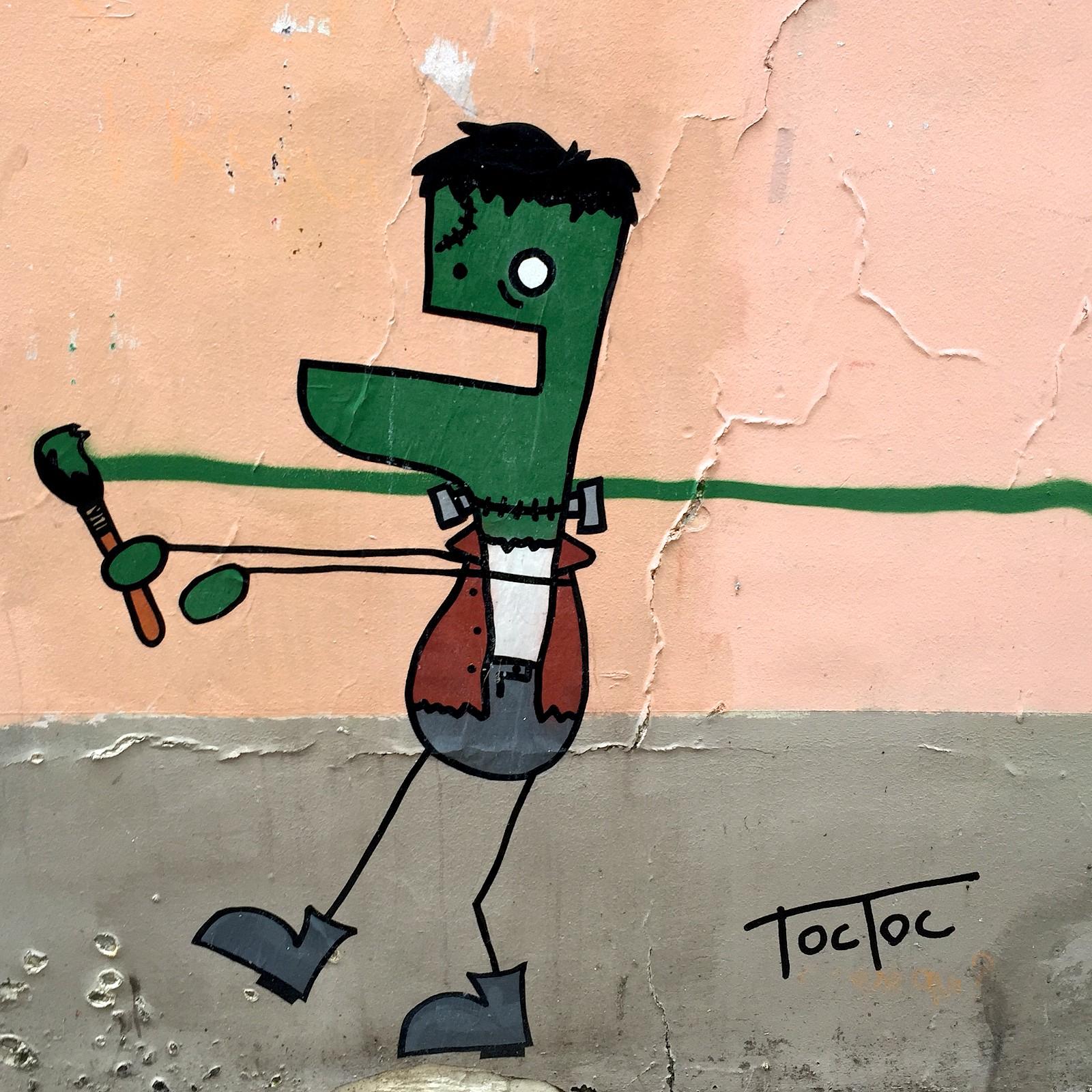 Paris_Street Art Artist Frankenstein
