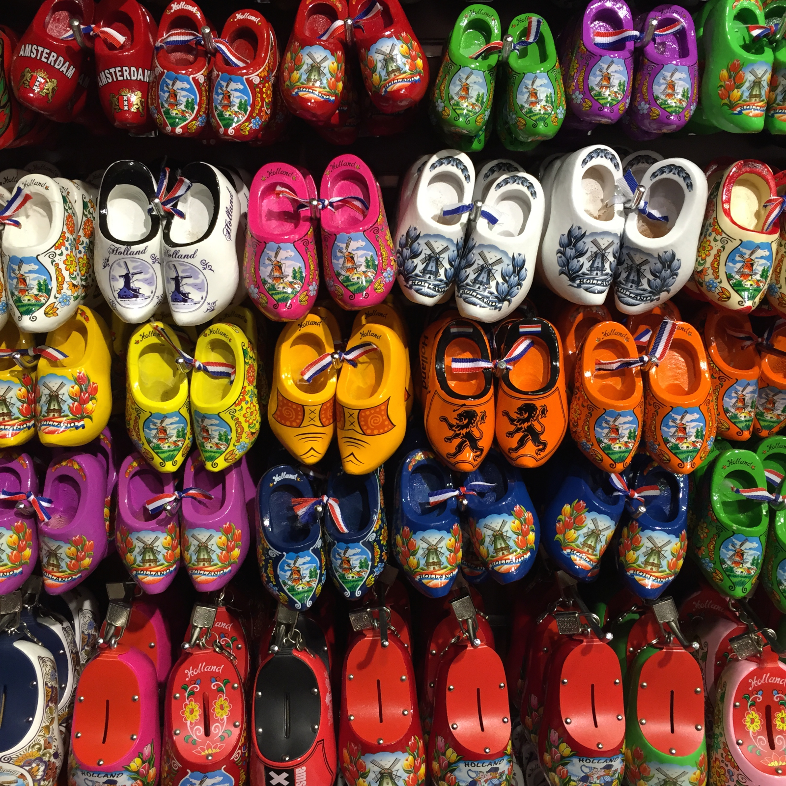 Ah, tourism... where do all these funny shoes end up?