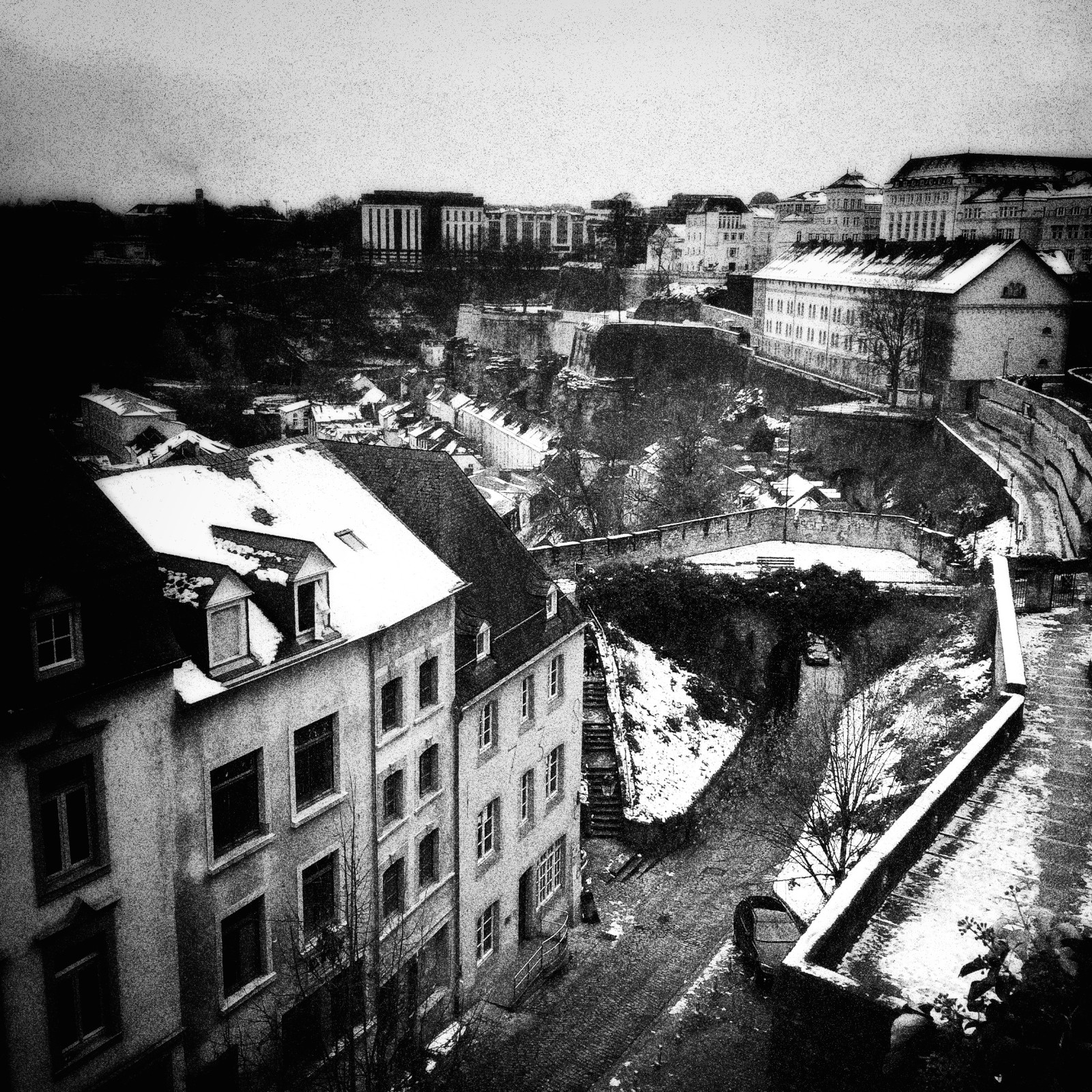 Luxembourg City.