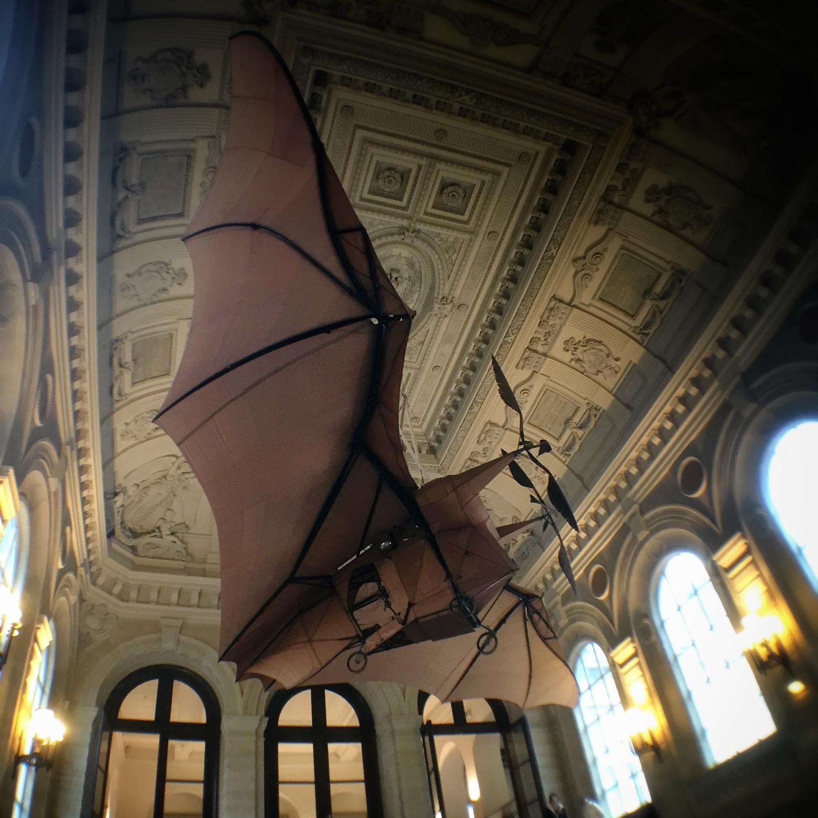 A bad flying machine at Musée des Arts et Métiers