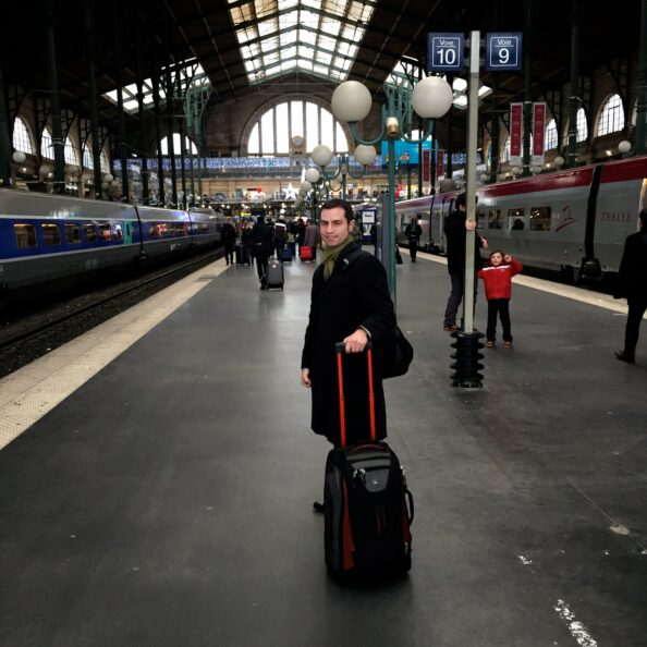 Paris_Victor Chudnovsky Gare du Nord