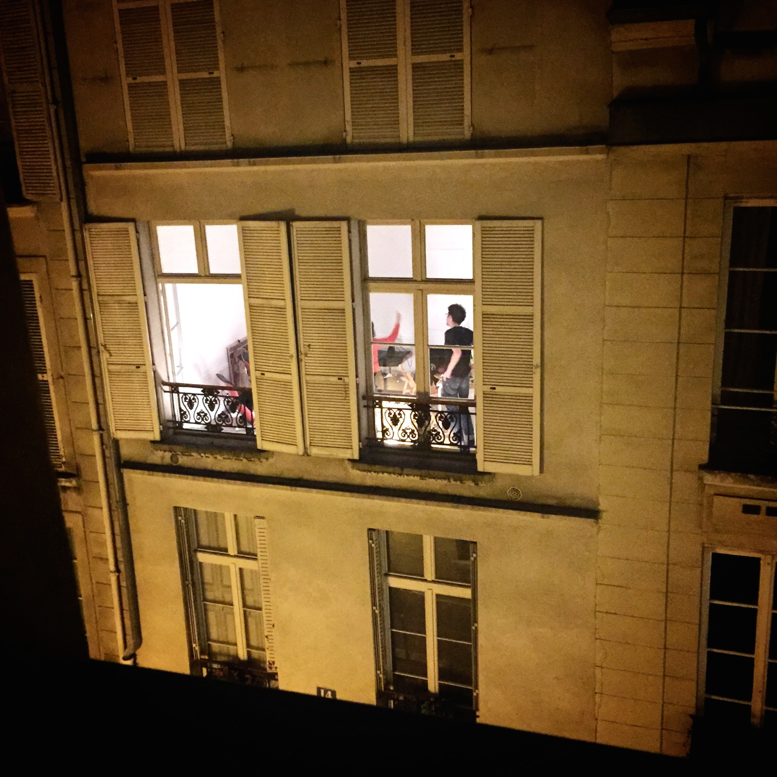 Loud Paris Neighbors