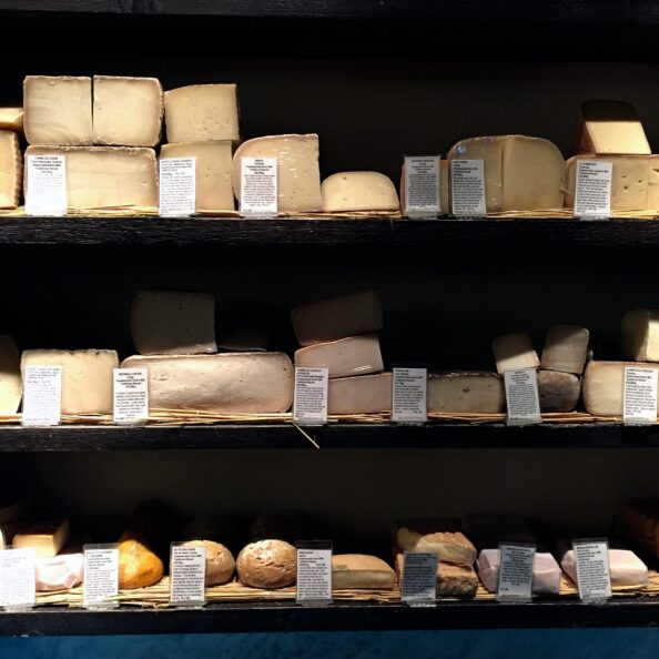 We snuck in right as La Fromagerie in Marylebone was closing. English Cheese! It's what's for dinner.