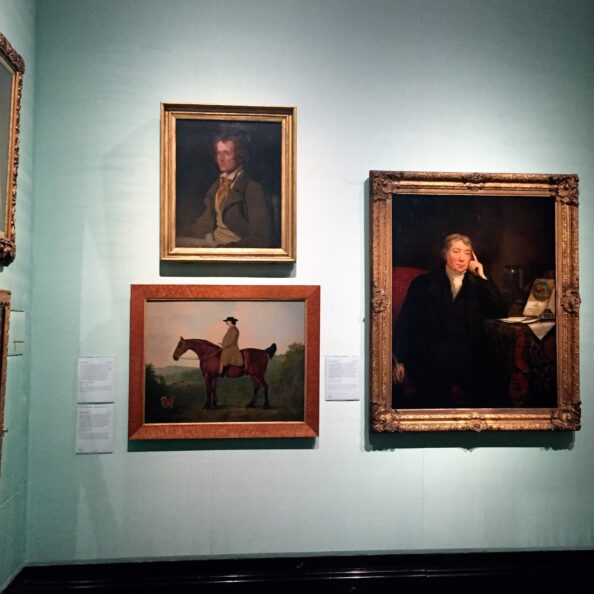 I would like to think John Clare would be gratified to hang in the National Portrait Gallery with Edward Jenner, discover of smallpox vaccination, and Robert Bakewell, father of animal husbandry, rather than the wall with Byron, the Shelley's and Southey.