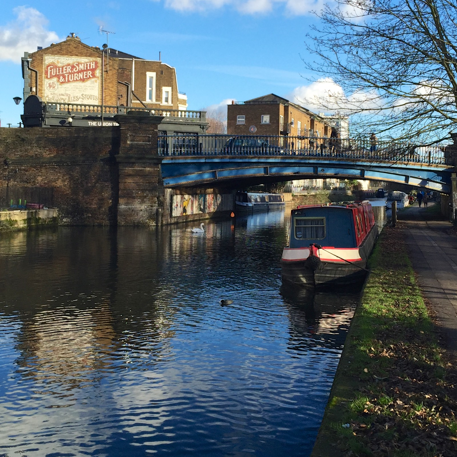 "An awesome accidental discovery while walking back toward our hotel, ""Little Venice"" and the canals of London."