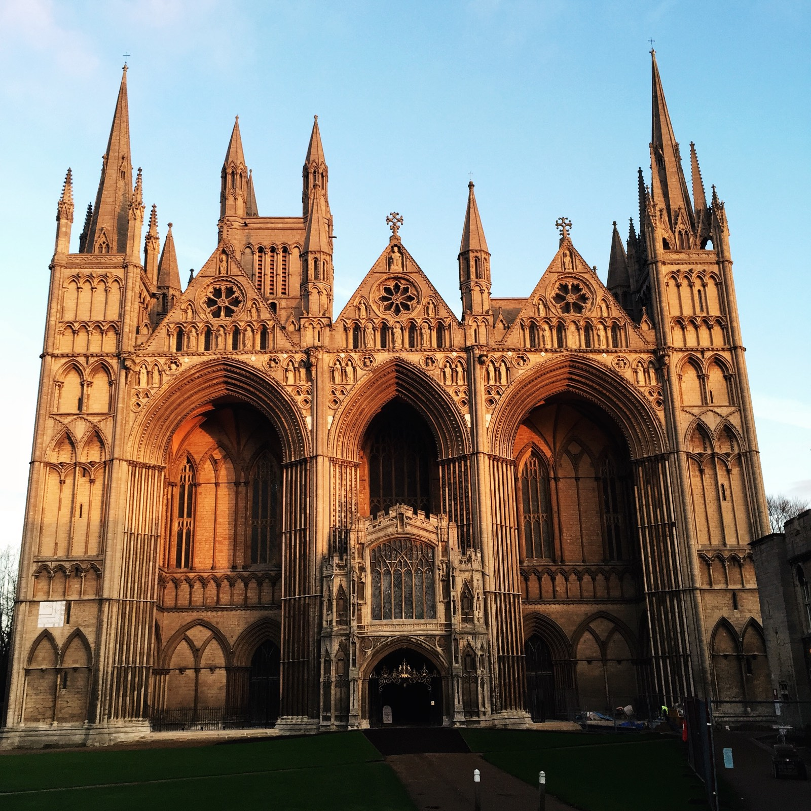 The Cathedral at Peterborough