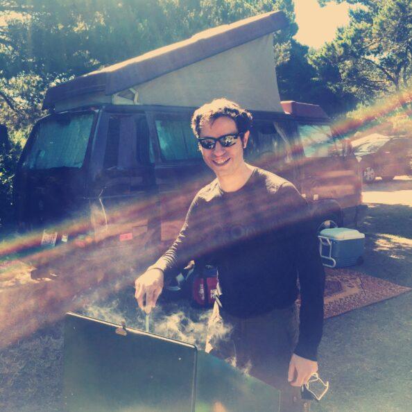 Westy Breakfast Camping