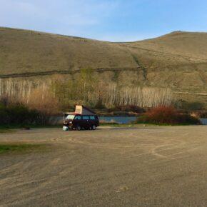 Yakima Canyon Spring Camping